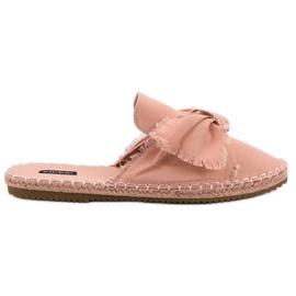Ingebouwde VICES-slippers roze