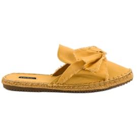 Geel Ingebouwde VICES-slippers