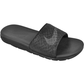 Zwart Slippers Nike Sportswear Solarsoft Benassi M 705474-091