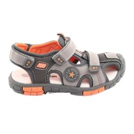 American Club Sandalka schoenen met een Amerikaans DR02 lederen inzetstuk