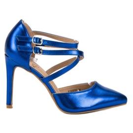 Kylie blauw Shiny Fashion Studs