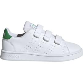 Wit Adidas Advantage C Jr EF0223 schoenen