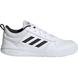 Wit Adidas Tensaur K Jr. EF1085 schoenen