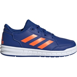 Blauw Adidas AltaSport K Jr G27095 schoenen