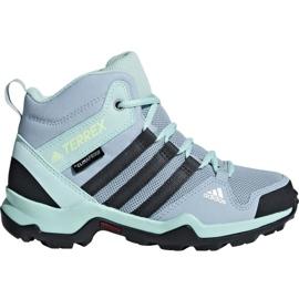 Blauw Adidas Terrex AX2R Mid Cp Jr BC0672 schoenen