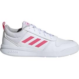 Wit Adidas Tensaur K Jr. EF1088 schoenen