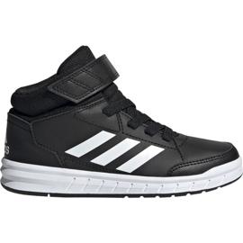 Zwart Adidas AltaSport Mid K Jr G27113 schoenen