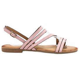 Primavera Klassieke roze sandalen