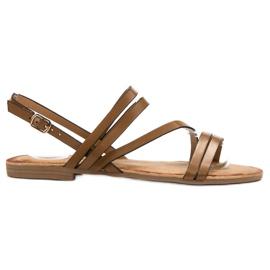 Primavera Klassieke bruine sandalen