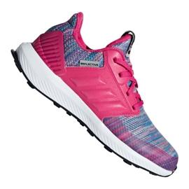 Roze Adidas RapidaRun Btw Jr AH2603 schoenen