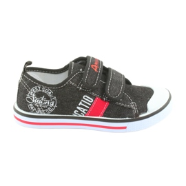 Velcro sneakers American Club zwarte jeans