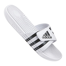 Wit Adidas M F35573 slippers