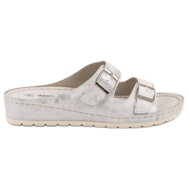 Goodin Slippers met gesp