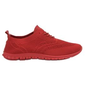 SHELOVET rood Textiel sportschoenen