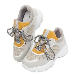 Grijze BL170P gele sportschoenen