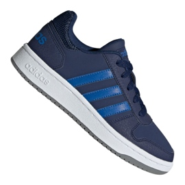 Marine Adidas Hoops 2.0 K Jr EE8999 schoenen