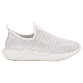 SHELOVET Instapperige witte sportschoenen
