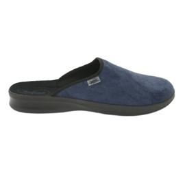 Blauw Befado herenschoenen pu 548M018