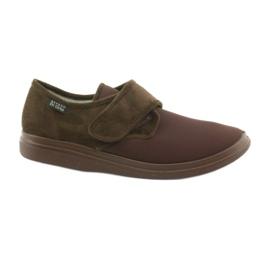 Befado 131M005 slippers voor diabetici bruin