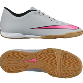 Nike Mercurial Vortex Ii binnenschoenen 651648-060 grijs grijs / zilver