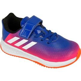 Blauw Adidas Rapida Turf Messi Kids BB0235 schoenen