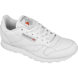 Wit Reebok Classic Leather Jr 50151 schoenen