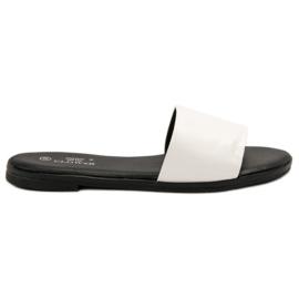 Clowse Klassieke witte slippers