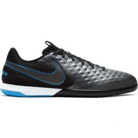 Binnenschoenen Nike Tiempo React Legend 8 Pro Ic M AT6134-004 zwart grijs