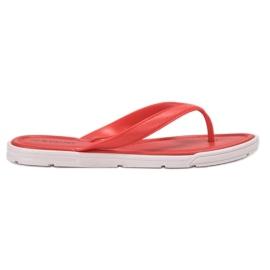 Seastar rood Rubberen flip-flops