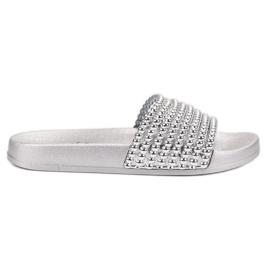 Bello Star grijs Slippers voor rubber dames