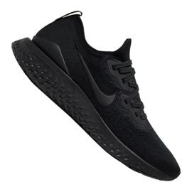 Zwart Hardloopschoenen Nike Epic React Flyknit 2 M BQ8928-011