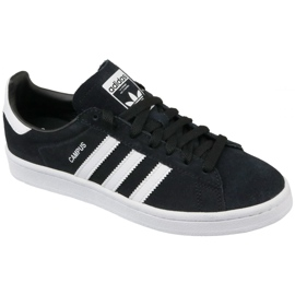 Adidas Originals Campus Jr BY9580 schoenen zwart