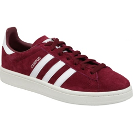 Adidas Originals Campus M BZ0087 bordeauxrode schoenen