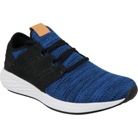 Loopschoenen New Balance Fresh Foam Cruz v2 M MCRUZKR2 blauw