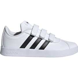 Schoenen Adidas Vl Court 2.0 Cmf C wit Jr. DB1837