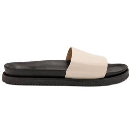 Clowse bruin Beige Dames-slippers