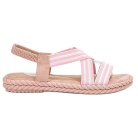 Seastar roze Comfortabele damessandalen