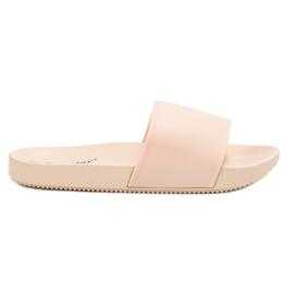 Seastar bruin Beige slippers