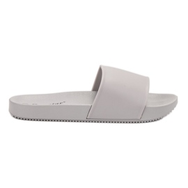 Seastar Grijze pantoffels grijs