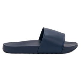 Seastar Navy Slippers blauw
