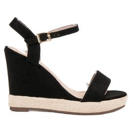 Seastar Espadrilles zwarte sandalen