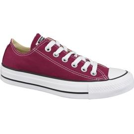 Converse schoenen Chuck Taylor All Star Ox M9691C bordeaux rood