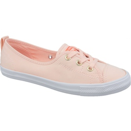 Converse Chuck Taylor All Star Ballet Lace Slip 564313C oranje schoenen
