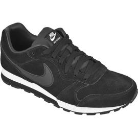 Zwart Schoenen Nike Sportswear Md Runner 2 Leather Premium M 819834-001