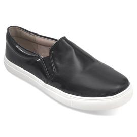Zwart Classic Slip On Q1-1 Slip-on Sling Black