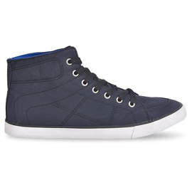High Sneakers Casual 033 Zwart