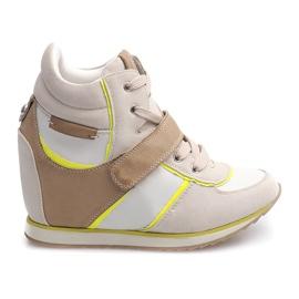 Bruin Modieuze sneakers JT4 Beige