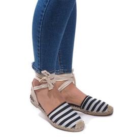 Sandalen Espadrilles Balletschoenen Balerinki 6368 Zwart