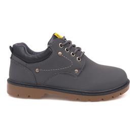 Klassieke schoenen schoenen JX-20 grijs