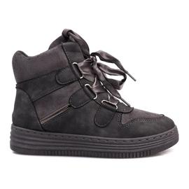 Grijze Paule-sneakers grijs